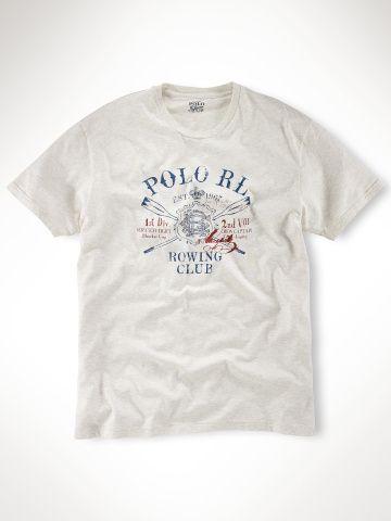 84e59b863dd00 Polo Ralph Lauren Classic Fit Col Rond T-Shirt Blanc lauren2258 ...