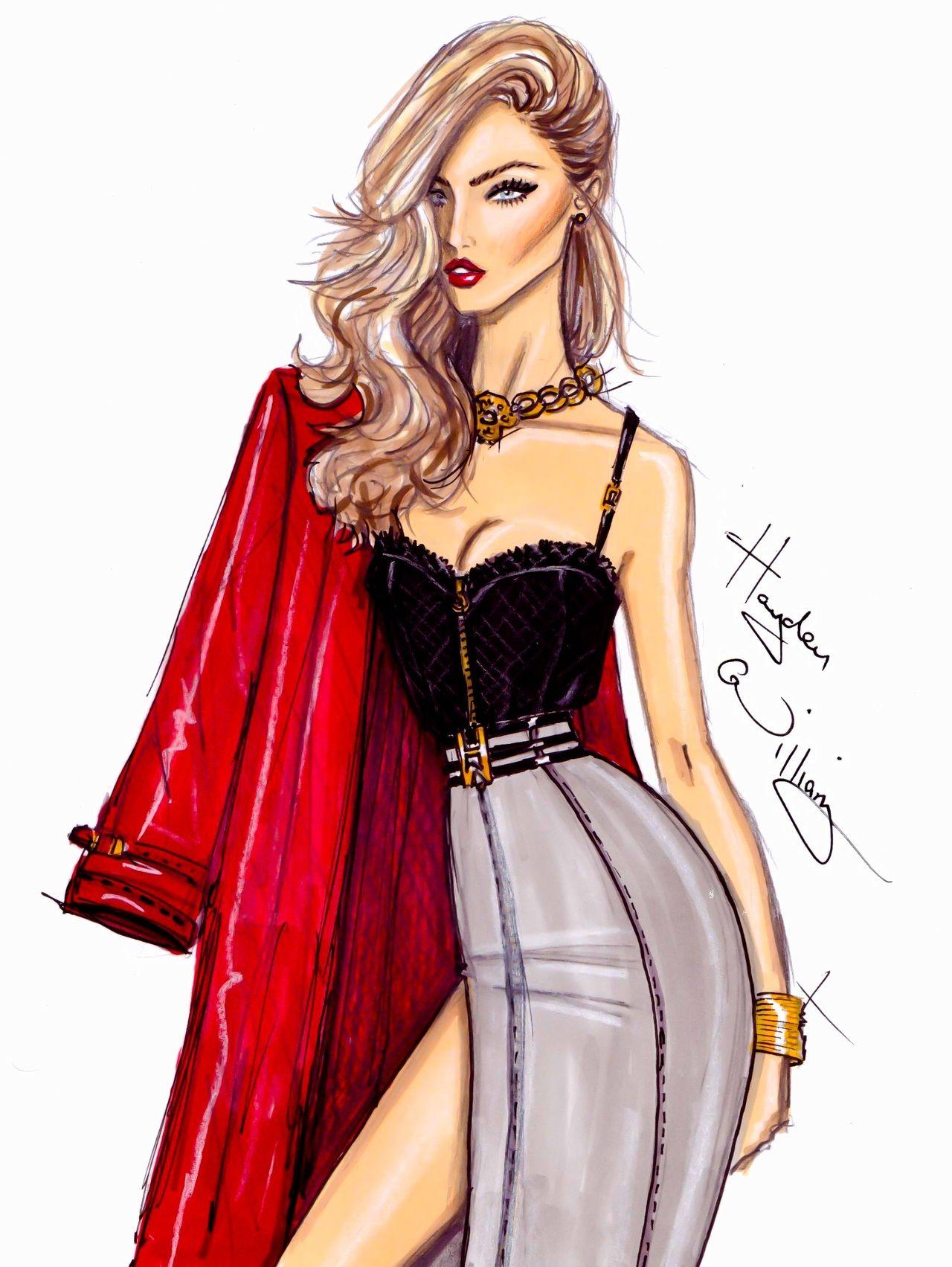 17 Best images about Fashion illustration & sketch on Pinterest ...