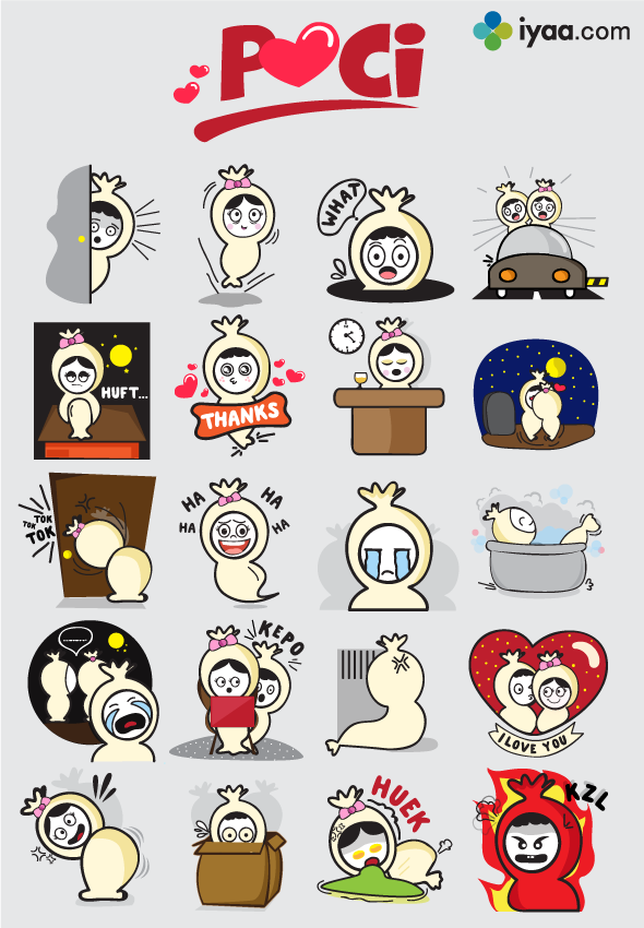 Stiker Lucu Telegram Koleksi Gambar HD di 2020 Stiker