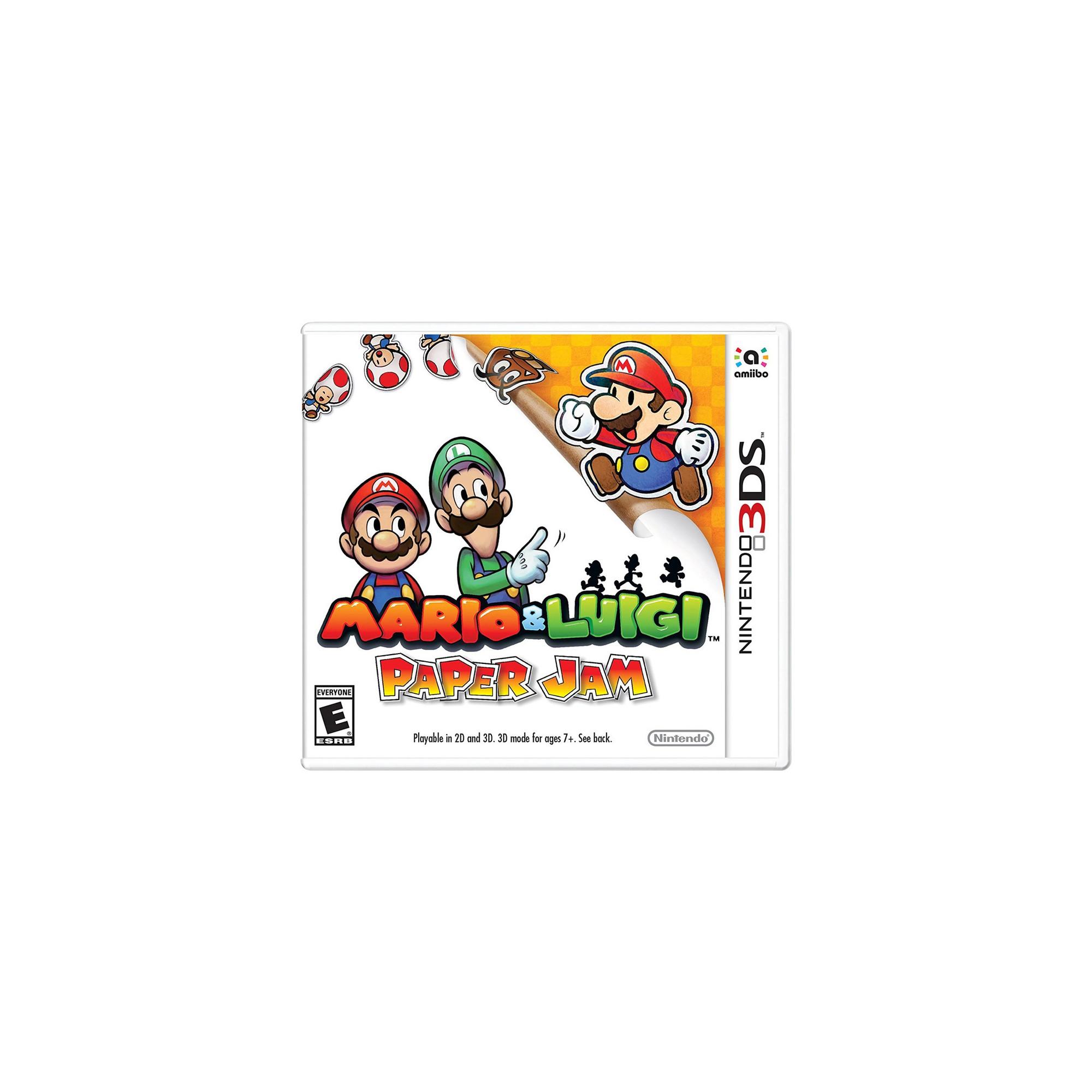Mario Luigi Paper Jam Nintendo 3ds Digital In 2019
