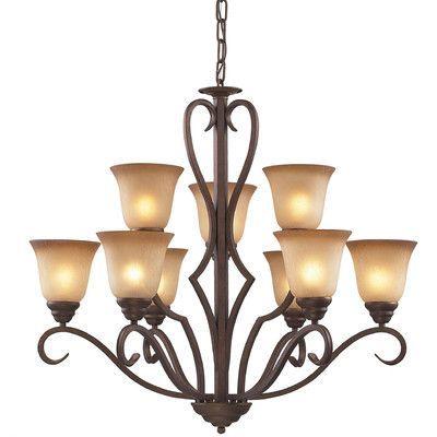 Darby Home Co Rosenblum 9 Light Chandelier