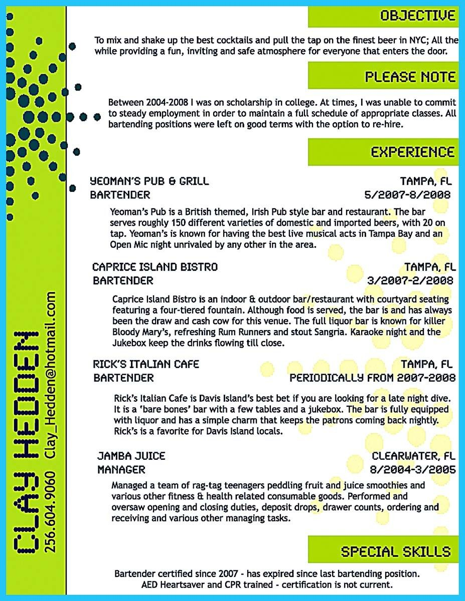 cool impress the recruiters with these bartender resume skills check more at http