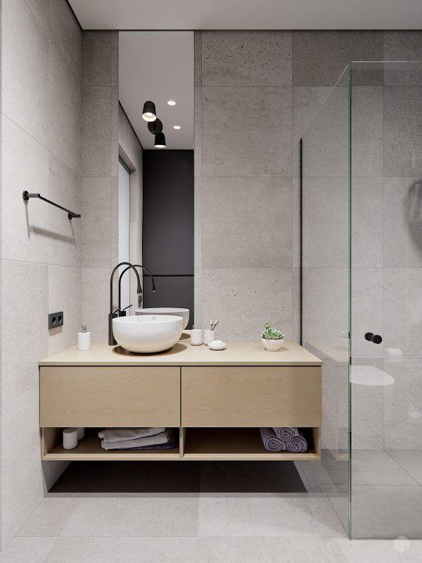 3 Small Space Apartment Interiors Under 50 Square Meters ...