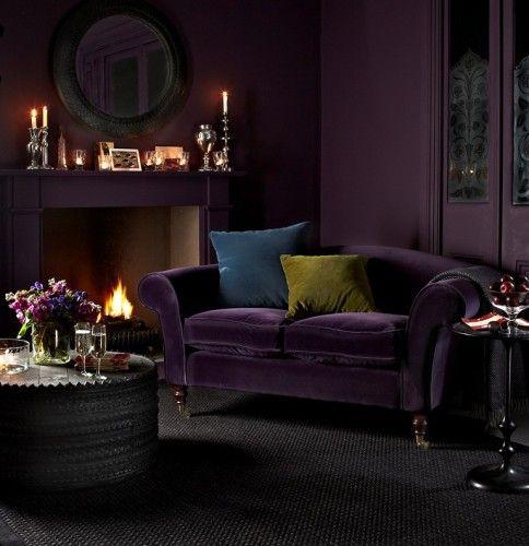 Purple Velvet Sofa What Is More