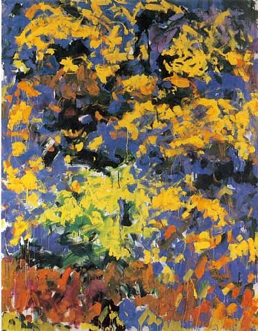La Grande Vallee Iii Art Joan Mitchell Painting