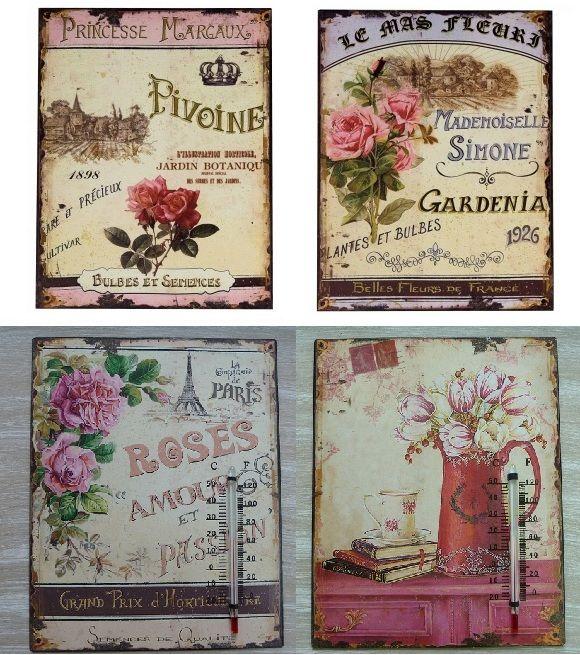 Cuadros vintage cuadros pinterest decoupage vintage - Cuadros shabby chic ...