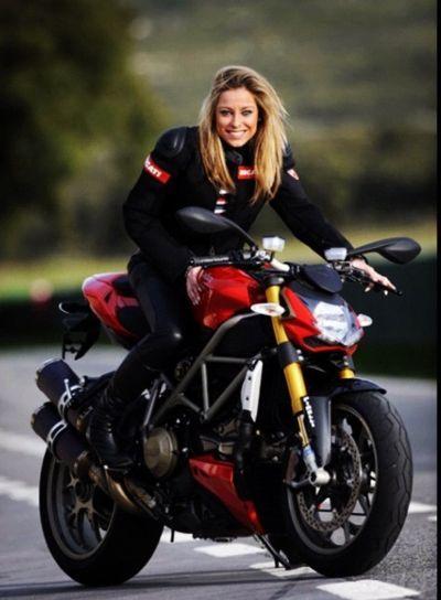 Pin On Girl Motorcycle