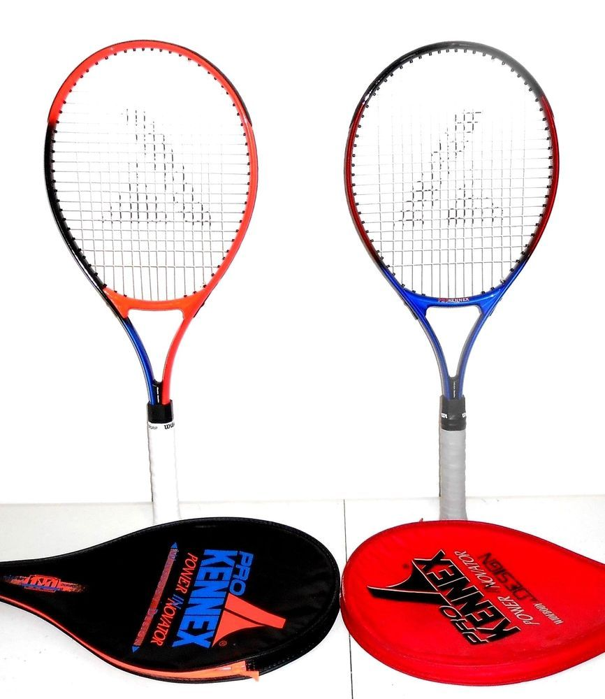 Two Pro Kennex Power Innovator Wideboy Tennis Racquets