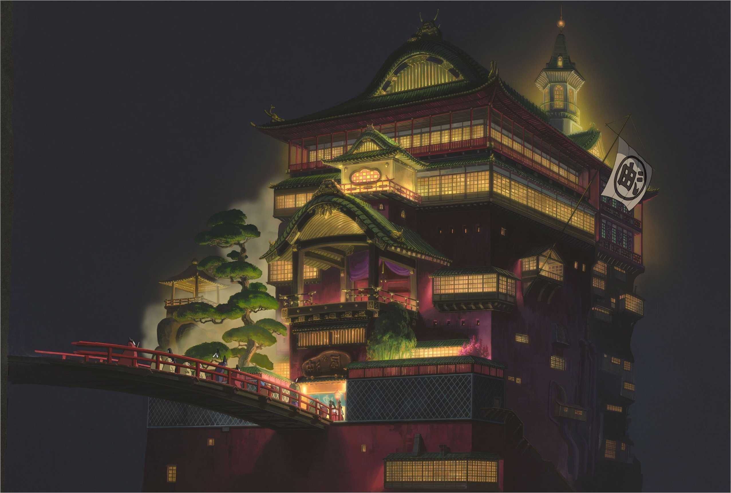 65 Spirited Away Wallpapers On Wallpaperplay Spirited Away Wallpaper Studio Ghibli Spirited Away