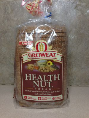 Oroweat Health Nut Bread - dairy free bread Can be bought at Walmart