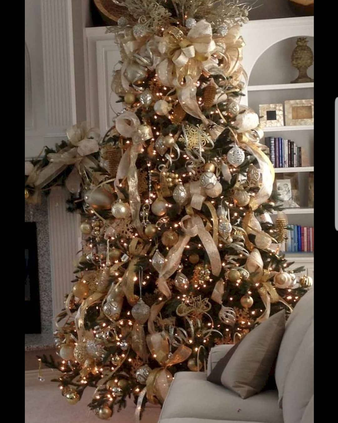 Which Tree 3 Options On My Page Elegant Christmas Trees Elegant Christmas Tree Decorations Christmas Tree Decorations