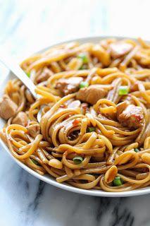 Crazy Deliciousness: Kung Pao Spaghetti