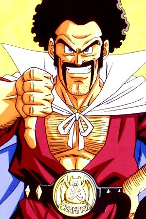 """How did Mr. Satan train to become stronger? Did he have someone like a martial-arts master…? When Mr. Satan was young, he attended a fighting dojo called """"Satan Castle"""". Through a combination of considerable power and good luck (his rival fighting opponent would get food poisoning, for instance), he quickly became world champion and was called """"Mr. Satan"""" after the name of his dojo. One day, at a bar in South City (where they were on tour), Satan and his martial-arts master made the mistake…"""