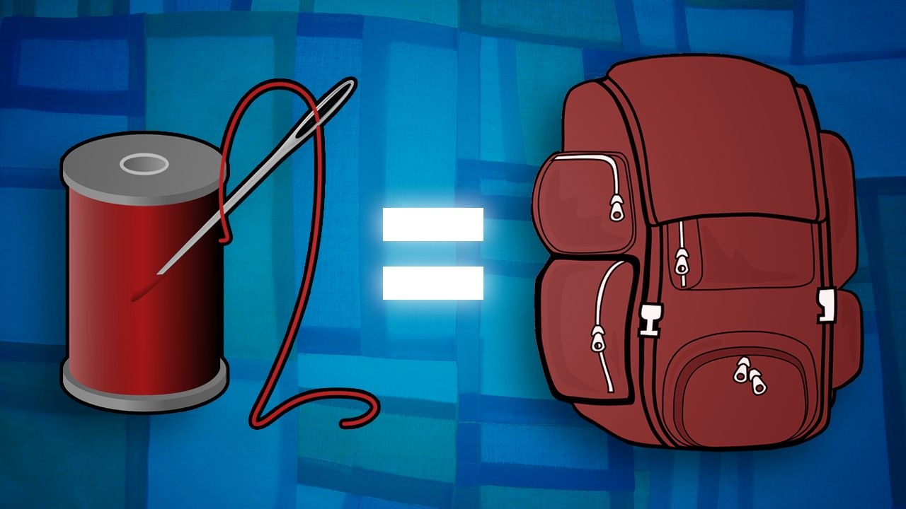 How to Design and Sew a Custom Backpack - Very detailed and specific  tutorial! c48b88245