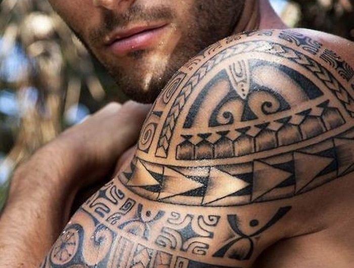 Tatouage Maori Signification Requin Maorie Bracelet Avant Bras