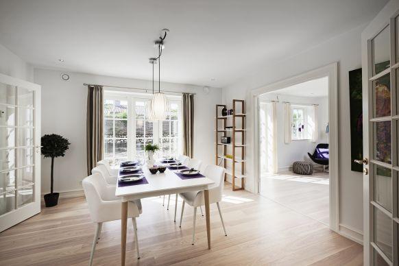 Alles inklusive Massivhaus in Norddeutschland - esszimmer im wohnzimmer