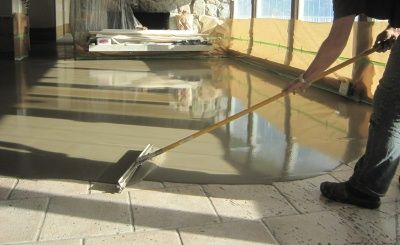 Skim Coat Existing Aggregate Pool Decking