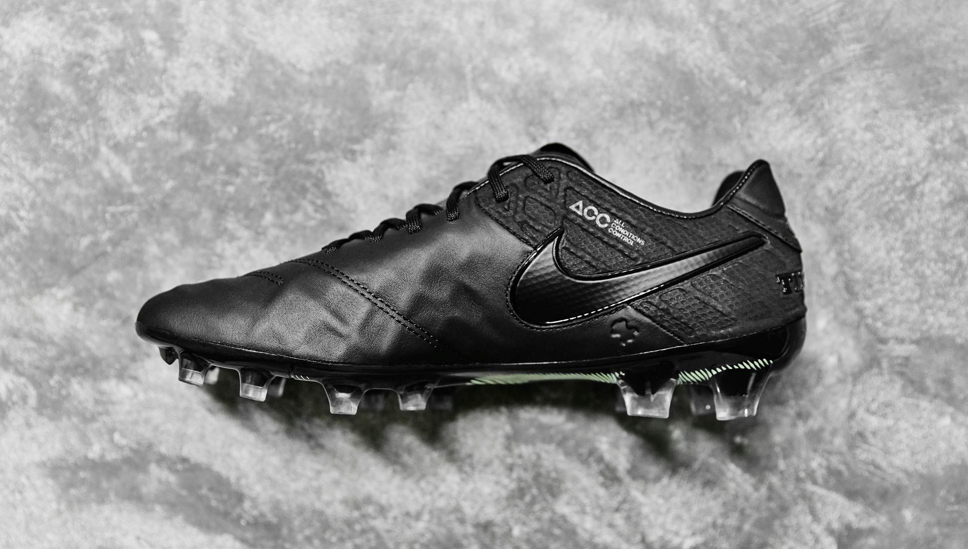 Nike Tiempo 6 Black Black Volt Soccerbible Football Boots Nike Soccer Boots