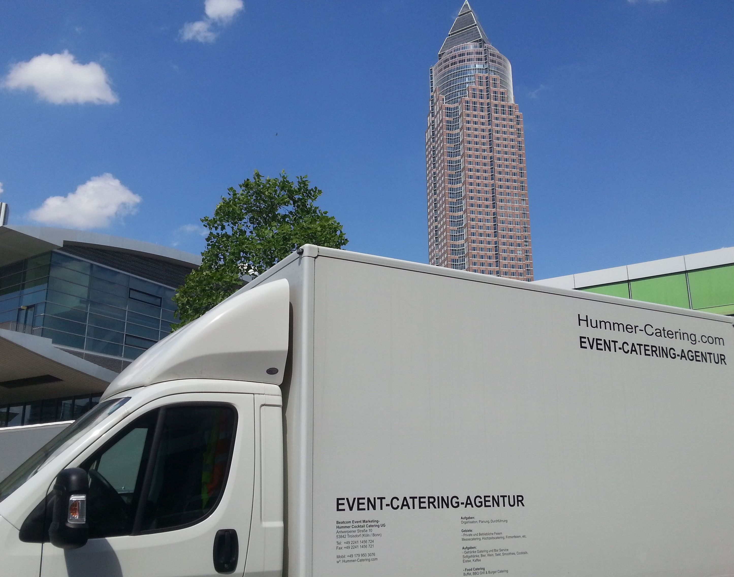 IMEX Messe Frankfurt Stand und Crew Catering Service Nach der ...