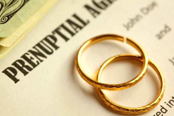 What Can  Cannot Be Included In A Prenuptial Agreement  Estate