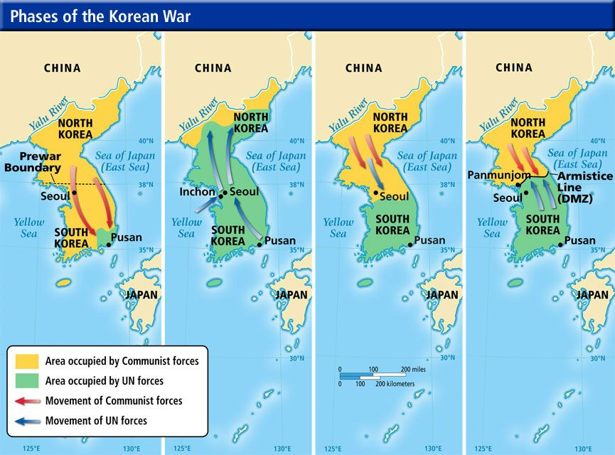 The Korean War by Max Hastings (1987) History and Cold war - fresh germany map after world war 1