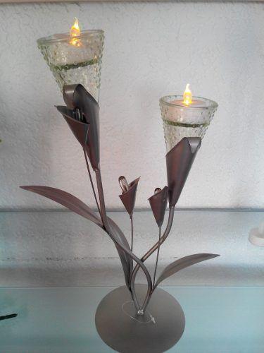 Candelabros decorativos velas