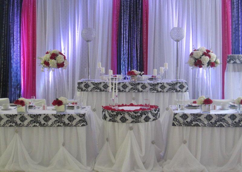 Head Table Decor Idea Help: Backdrop/Head Tables - Sultana's Wedding Decor