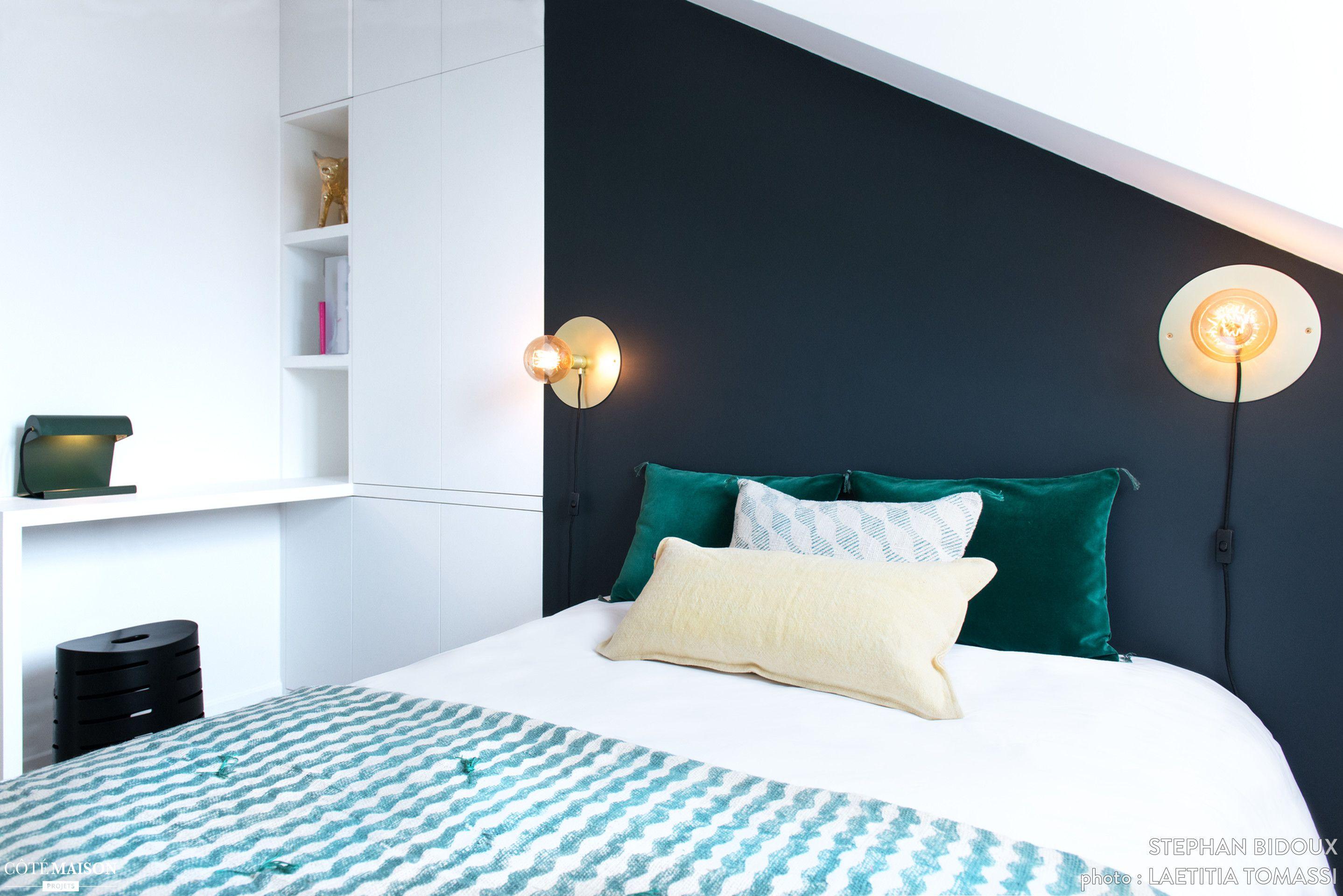 la propritaire habitant cannes souhaitait avoir un pied a terre pour ses sejours parisiens amnag. Black Bedroom Furniture Sets. Home Design Ideas