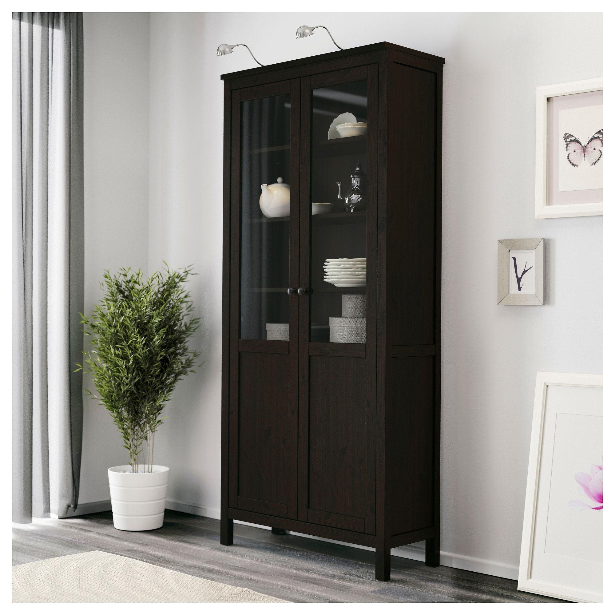 Us Furniture And Home Furnishings Glass Cabinet Doors Hemnes Glass Shelves Ikea
