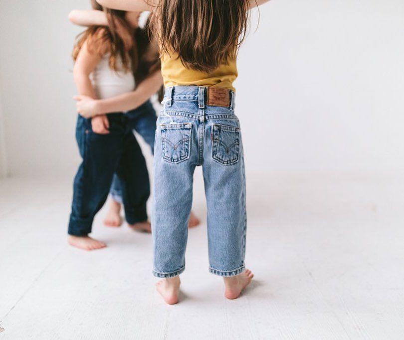 The Perfect Little Pair Of Vintage Denim Vintage Kids Clothes Denim Baby Kids Denim