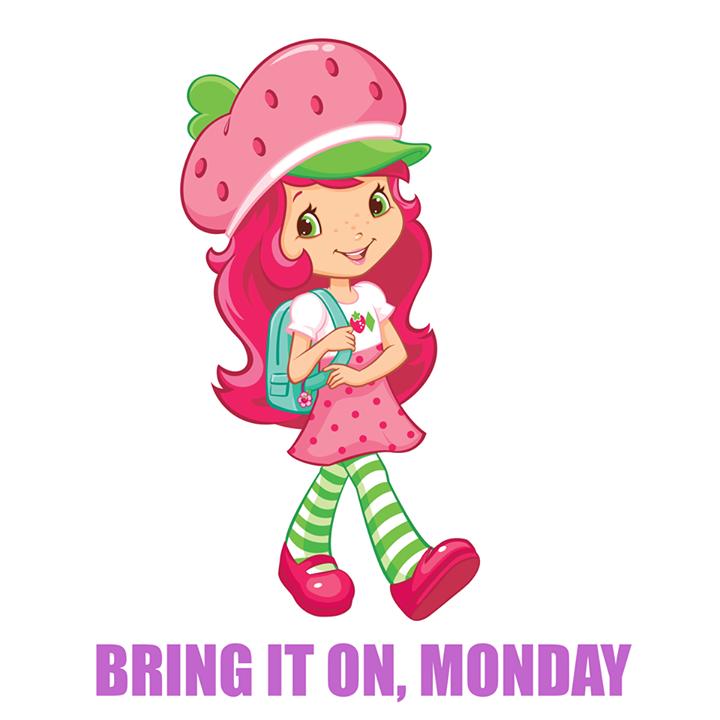 Strawberry Shortcake - Bring It On, Monday | Strawberry Shortcake ...
