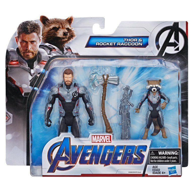 Marvel Avengers Infinity War Titan Hero Series Action Figures Valkyrie Raccoon