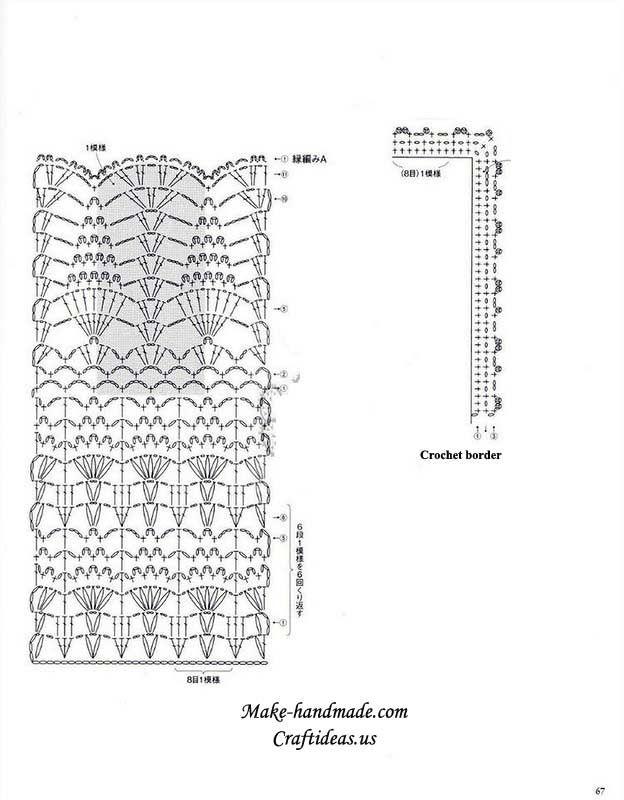 Crochet bottom part of cardigan diagram bolero vest pinterest crochet bottom part of cardigan diagram ccuart Image collections