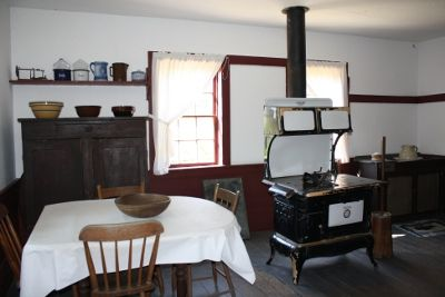 a traditional Amish kitchen