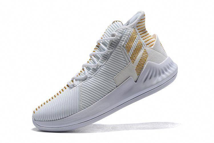 "huge discount 13d7b e02c5 2018 adidas D Rose 9 ""White Gold"" Mens Basketball Shoes HoustonBasketball"