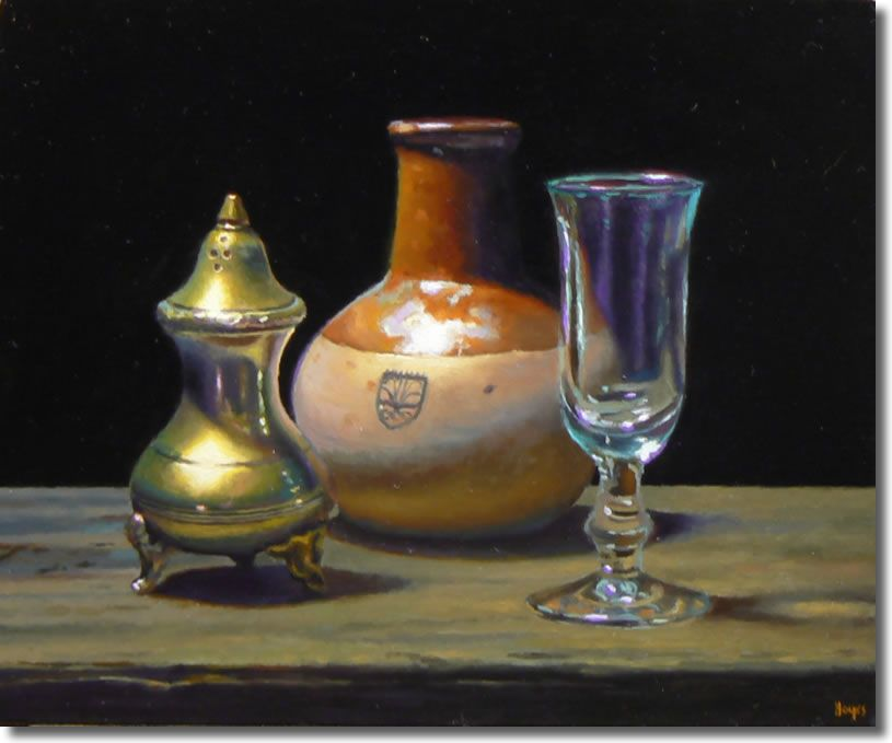 Painting A Day Silver Pottery Glass Art Images