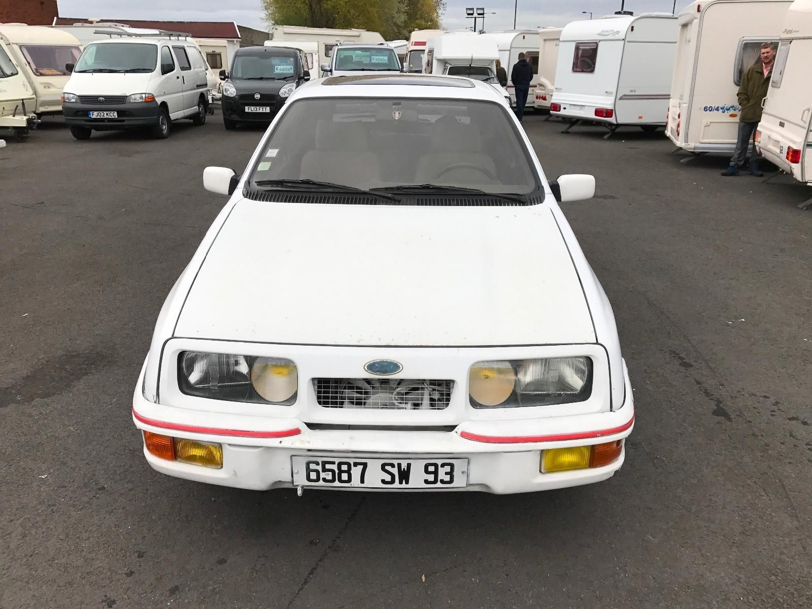 This Ford Sierra 2 8 Xr4i Lhd Rwd Restoration Spares Or Repairs