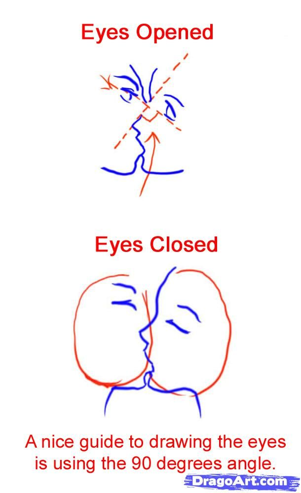 How To Sketch An Anime Kiss Step By Step Anime People Anime Draw Japanese Anime Draw Manga Free Online Drawi Kissing Drawing Manga Drawing Online Drawing