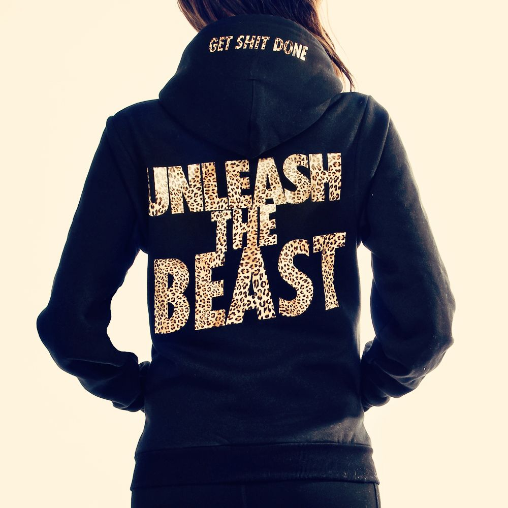 Unleash The Beast hoodie from STRONGER.