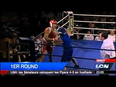 Justin Trudeau vs Patrick Brazeau  Le combat de boxe
