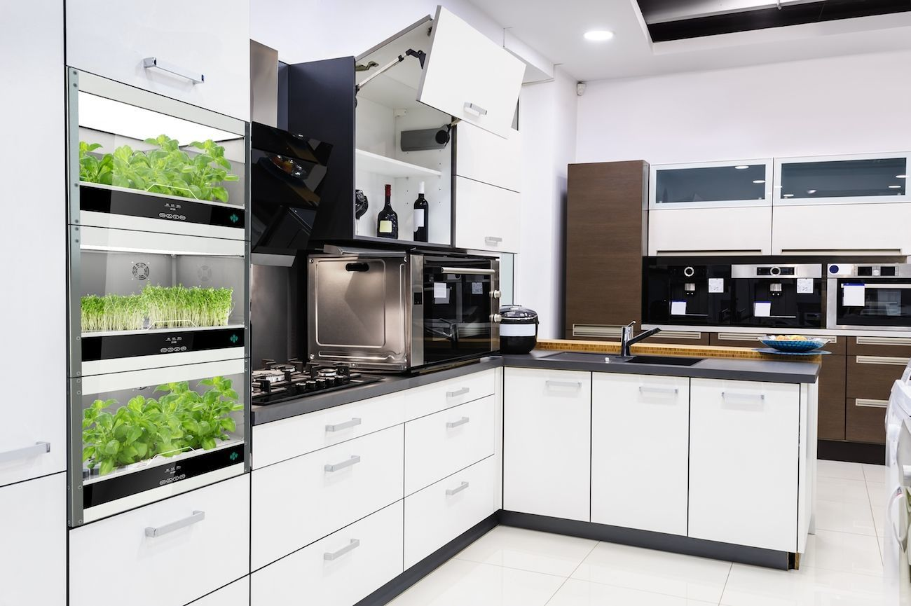 Enjoy The Benefits Of The Freshest Food With The Homefarm Home Hydroponic  Garden Which Is Perfect
