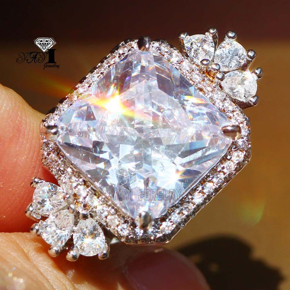 bad2763e0b2e2 Cheap ring wedding, Buy Quality princess cut directly from China ...