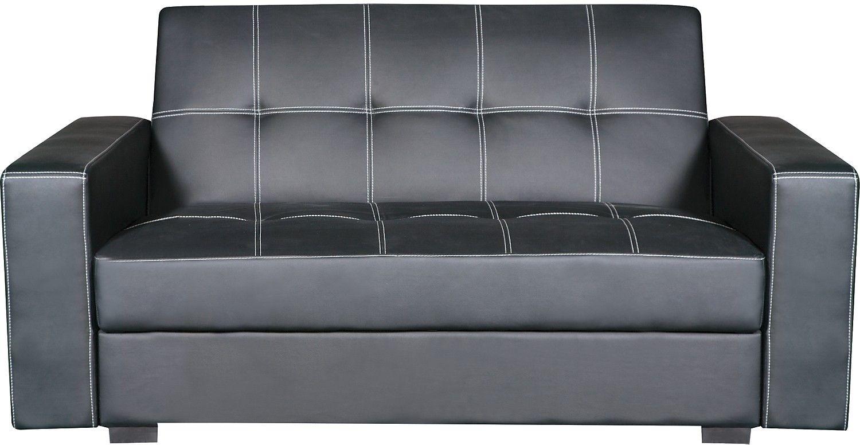 Belize Storage Sofa Bed Black The Brick