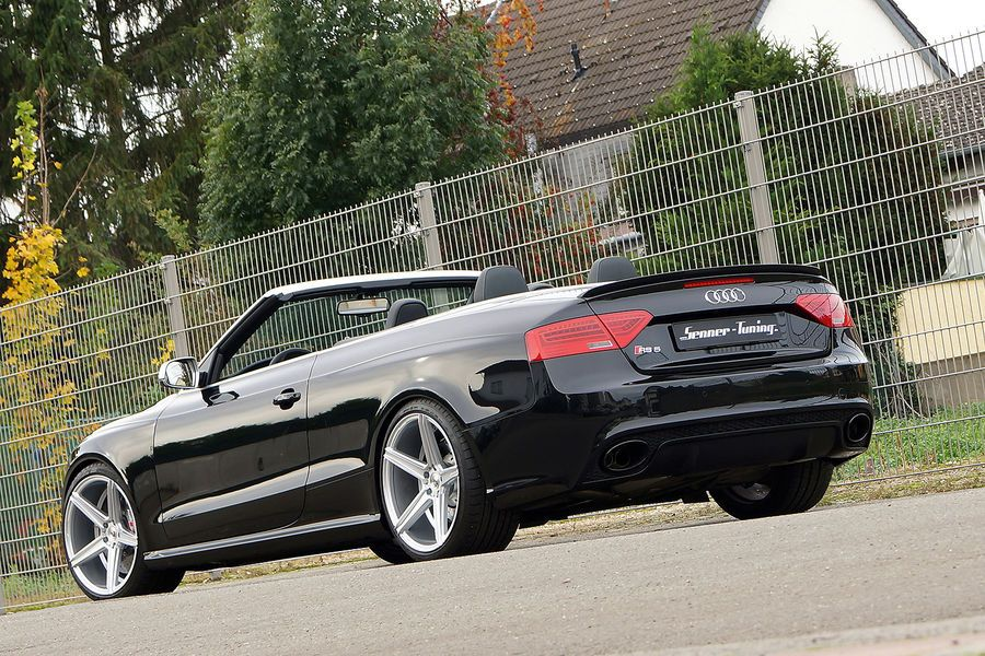 foto audi a5 cabrio by senner tuning car new. Black Bedroom Furniture Sets. Home Design Ideas