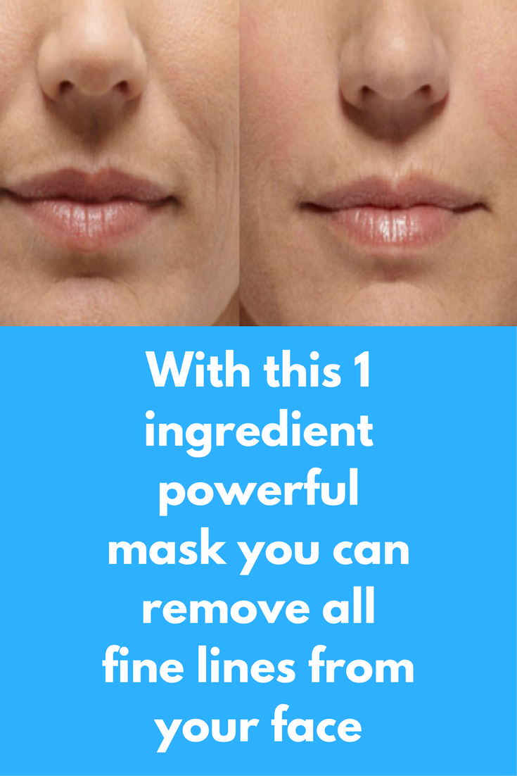 With This 1 Ingredient Powerful Mask You Can Remove All Fine Lines From Your Face For Most Of Us Anti Wrinkle Skin Care Skin Care Wrinkles Sensitive Skin Care