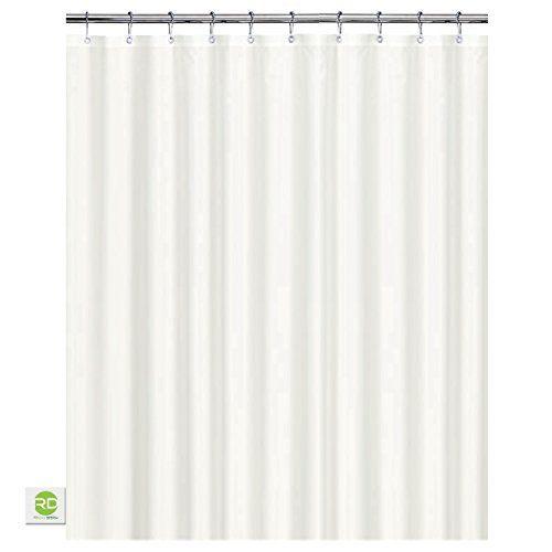 Mildew Resistant Fabric Shower Curtain Waterproof Water Repellent