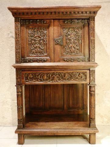 Dressoir Moyen Age Recherche Google Baroque Furniture Antique Furniture Antiques