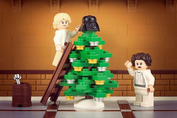 merry sithmas lego star wars christmas mash ups