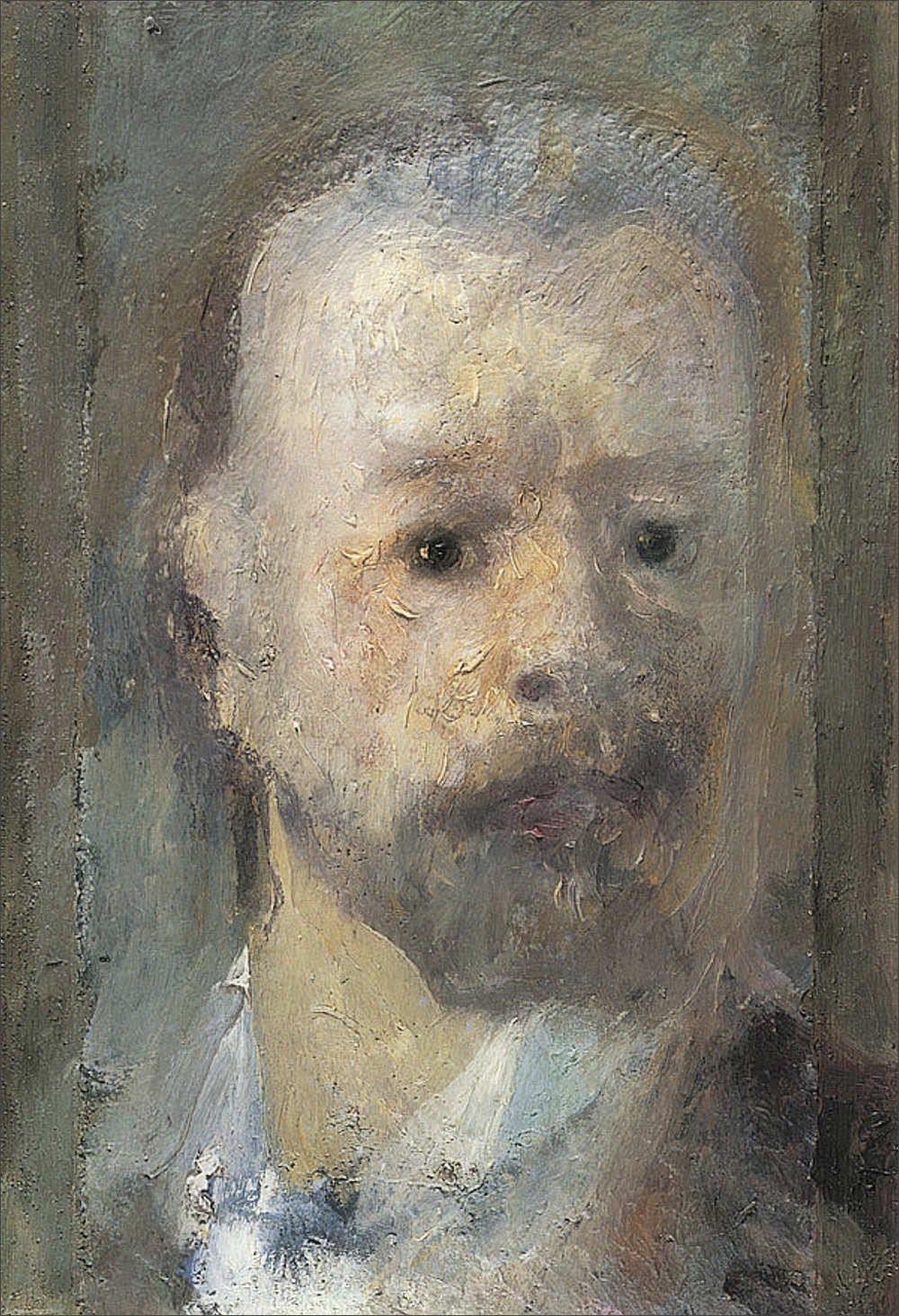 Filippo Franzoni · Autoritratto · 1902 · MASI · Lugano