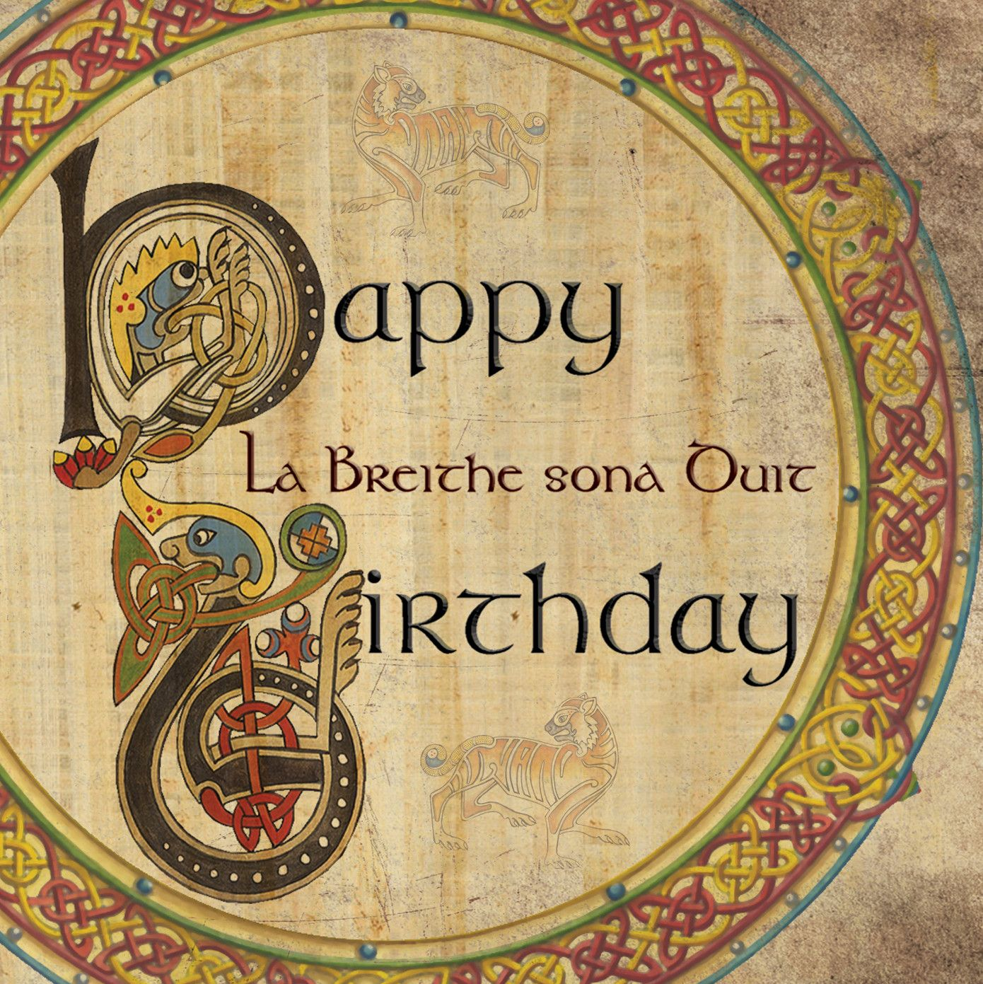 Pin by The Witch Store UY on celtic birthday cards Irish